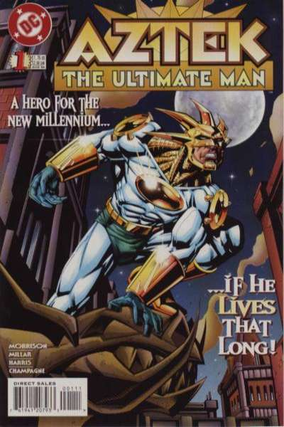 Aztek: The Ultimate Man # comic book complete sets Aztek: The Ultimate Man # comic books