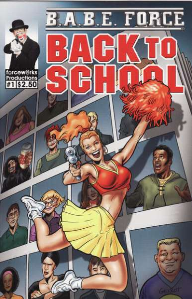 B.A.B.E. Force: Back to School #1 comic books - cover scans photos B.A.B.E. Force: Back to School #1 comic books - covers, picture gallery