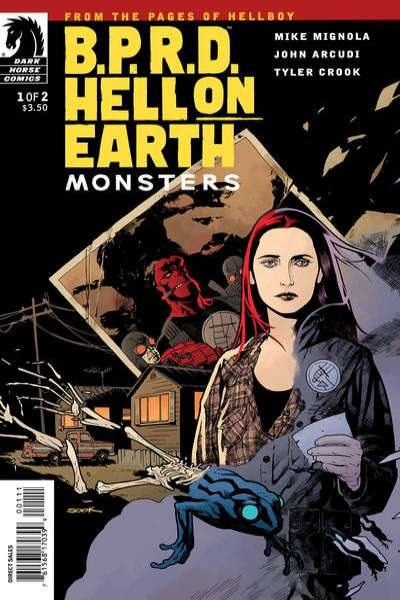 B.P.R.D.: Hell on Earth - Monsters #1 Comic Books - Covers, Scans, Photos  in B.P.R.D.: Hell on Earth - Monsters Comic Books - Covers, Scans, Gallery