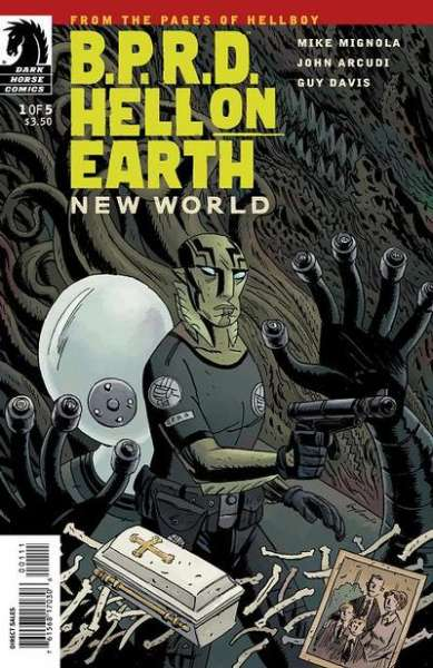 B.P.R.D.: Hell on Earth - New World #1 Comic Books - Covers, Scans, Photos  in B.P.R.D.: Hell on Earth - New World Comic Books - Covers, Scans, Gallery