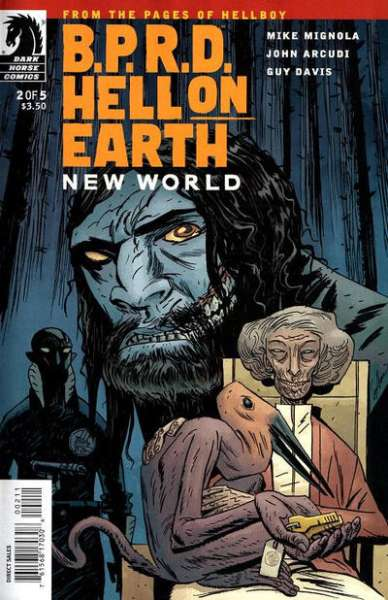 B.P.R.D.: Hell on Earth - New World #2 Comic Books - Covers, Scans, Photos  in B.P.R.D.: Hell on Earth - New World Comic Books - Covers, Scans, Gallery