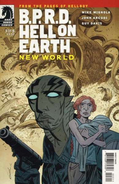 B.P.R.D.: Hell on Earth - New World #3 Comic Books - Covers, Scans, Photos  in B.P.R.D.: Hell on Earth - New World Comic Books - Covers, Scans, Gallery