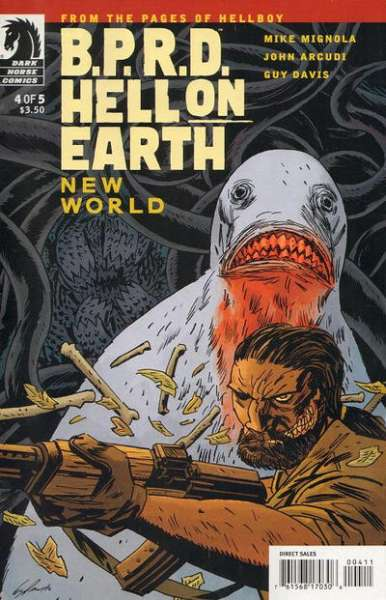 B.P.R.D.: Hell on Earth - New World #4 Comic Books - Covers, Scans, Photos  in B.P.R.D.: Hell on Earth - New World Comic Books - Covers, Scans, Gallery