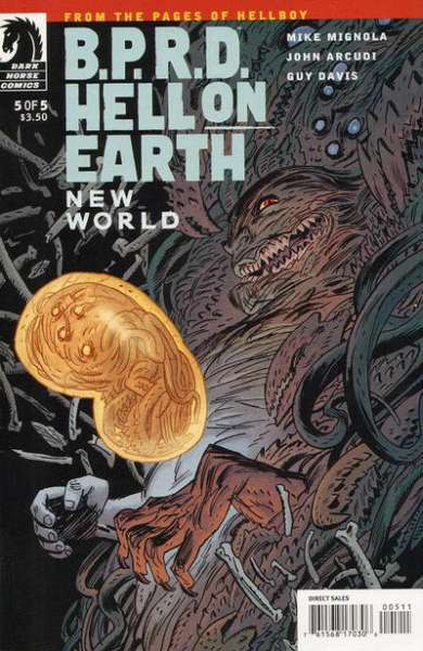 B.P.R.D.: Hell on Earth - New World #5 Comic Books - Covers, Scans, Photos  in B.P.R.D.: Hell on Earth - New World Comic Books - Covers, Scans, Gallery