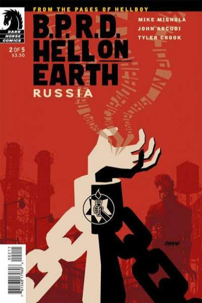 B.P.R.D.: Hell on Earth - Russia #2 Comic Books - Covers, Scans, Photos  in B.P.R.D.: Hell on Earth - Russia Comic Books - Covers, Scans, Gallery