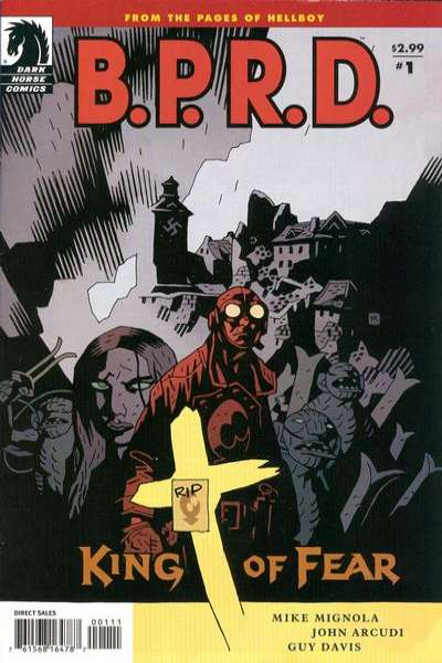 B.P.R.D.: King of Fear Comic Books. B.P.R.D.: King of Fear Comics.