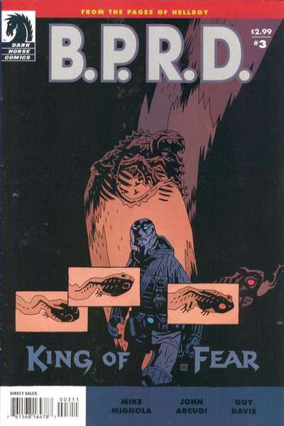 B.P.R.D.: King of Fear #3 comic books for sale