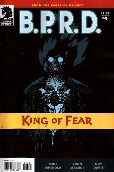 B.P.R.D.: King of Fear #4 Comic Books - Covers, Scans, Photos  in B.P.R.D.: King of Fear Comic Books - Covers, Scans, Gallery