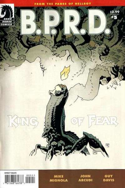 B.P.R.D.: King of Fear #5 Comic Books - Covers, Scans, Photos  in B.P.R.D.: King of Fear Comic Books - Covers, Scans, Gallery