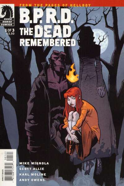 B.P.R.D.: The Dead Remembered #1 Comic Books - Covers, Scans, Photos  in B.P.R.D.: The Dead Remembered Comic Books - Covers, Scans, Gallery