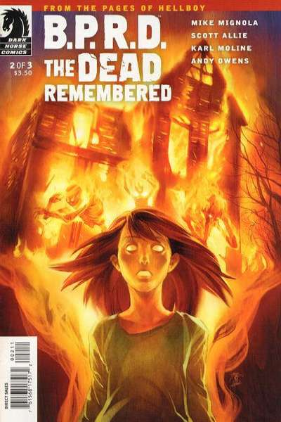 B.P.R.D.: The Dead Remembered #2 comic books - cover scans photos B.P.R.D.: The Dead Remembered #2 comic books - covers, picture gallery