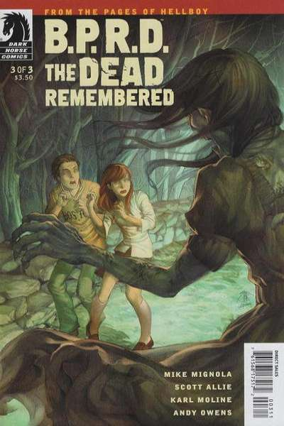 B.P.R.D.: The Dead Remembered #3 comic books - cover scans photos B.P.R.D.: The Dead Remembered #3 comic books - covers, picture gallery