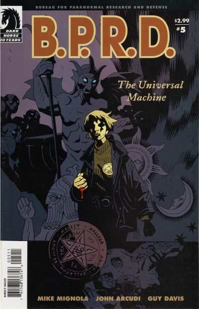 B.P.R.D.: The Universal Machine #5 Comic Books - Covers, Scans, Photos  in B.P.R.D.: The Universal Machine Comic Books - Covers, Scans, Gallery