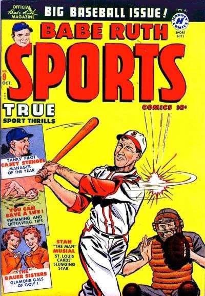Babe Ruth Sports #9 comic books for sale