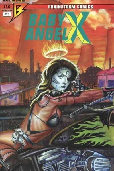 Baby Angel X #1 comic books - cover scans photos Baby Angel X #1 comic books - covers, picture gallery