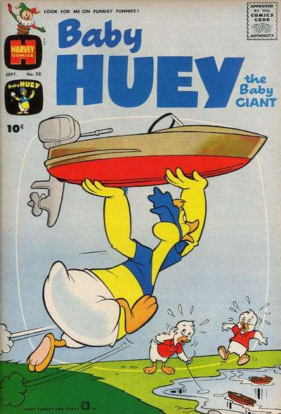 Baby Huey: The Baby Giant #38 comic books for sale