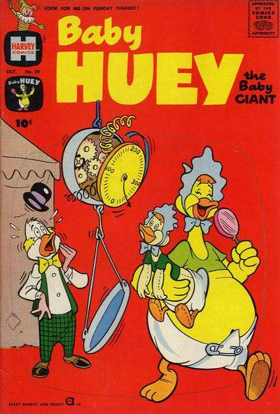 Baby Huey: The Baby Giant #39 Comic Books - Covers, Scans, Photos  in Baby Huey: The Baby Giant Comic Books - Covers, Scans, Gallery