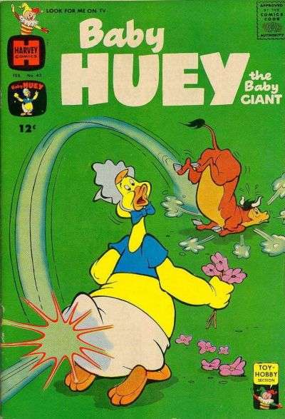 Baby Huey: The Baby Giant #43 Comic Books - Covers, Scans, Photos  in Baby Huey: The Baby Giant Comic Books - Covers, Scans, Gallery