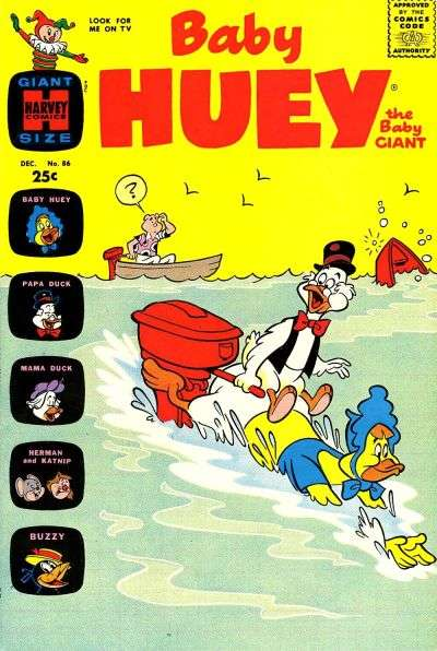 Baby Huey: The Baby Giant #86 Comic Books - Covers, Scans, Photos  in Baby Huey: The Baby Giant Comic Books - Covers, Scans, Gallery