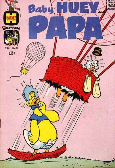 Baby Huey and Papa #10 Comic Books - Covers, Scans, Photos  in Baby Huey and Papa Comic Books - Covers, Scans, Gallery