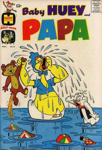Baby Huey and Papa #4 comic books - cover scans photos Baby Huey and Papa #4 comic books - covers, picture gallery