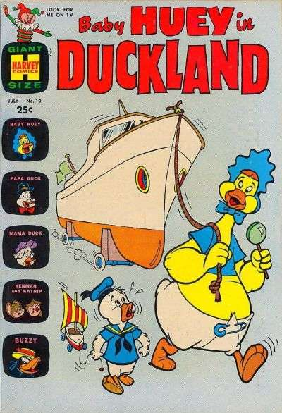 Baby Huey in Duckland #10 Comic Books - Covers, Scans, Photos  in Baby Huey in Duckland Comic Books - Covers, Scans, Gallery