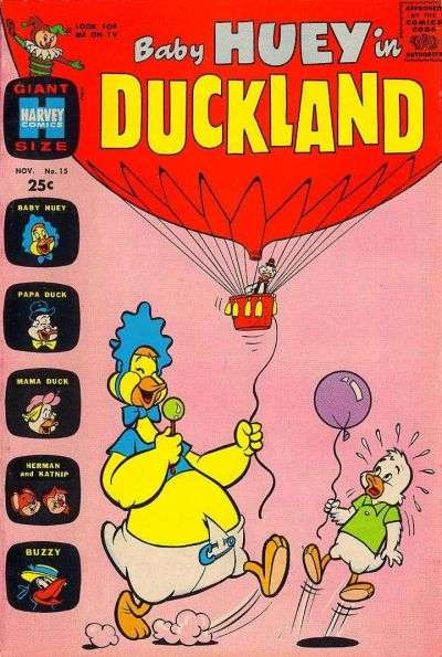 Baby Huey in Duckland #15 Comic Books - Covers, Scans, Photos  in Baby Huey in Duckland Comic Books - Covers, Scans, Gallery