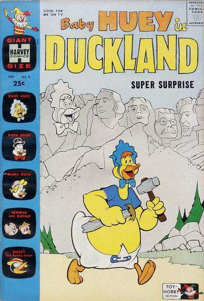 Baby Huey in Duckland #2 comic books for sale