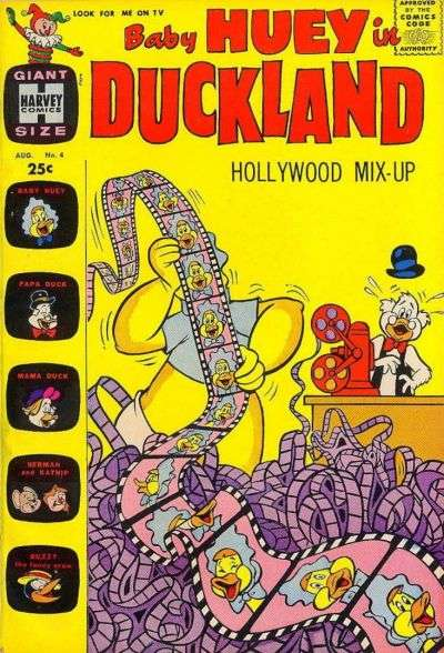 Baby Huey in Duckland #4 Comic Books - Covers, Scans, Photos  in Baby Huey in Duckland Comic Books - Covers, Scans, Gallery