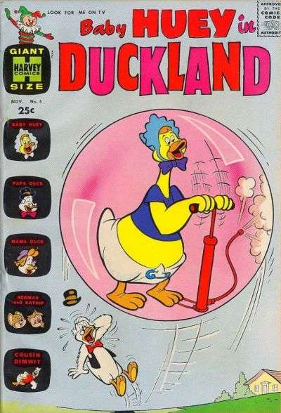 Baby Huey in Duckland #5 Comic Books - Covers, Scans, Photos  in Baby Huey in Duckland Comic Books - Covers, Scans, Gallery