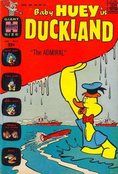 Baby Huey in Duckland #8 Comic Books - Covers, Scans, Photos  in Baby Huey in Duckland Comic Books - Covers, Scans, Gallery