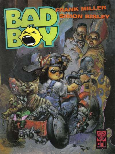 Bad Boy #1 comic books - cover scans photos Bad Boy #1 comic books - covers, picture gallery