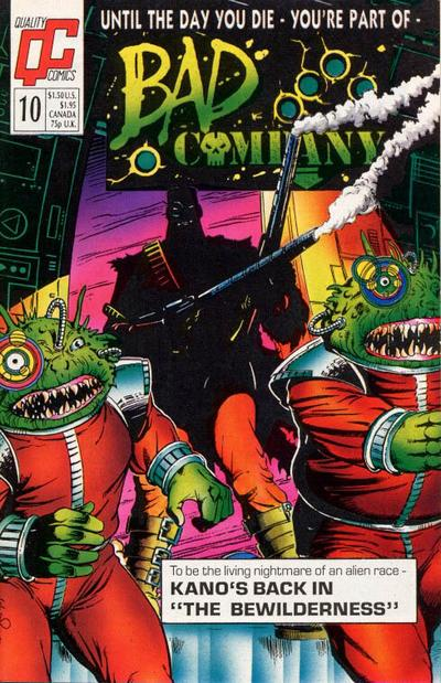 Bad Company #10 Comic Books - Covers, Scans, Photos  in Bad Company Comic Books - Covers, Scans, Gallery