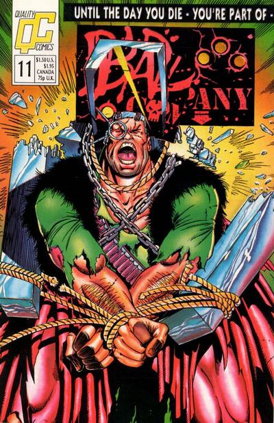 Bad Company #11 Comic Books - Covers, Scans, Photos  in Bad Company Comic Books - Covers, Scans, Gallery