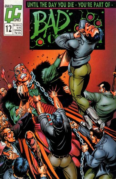 Bad Company #12 Comic Books - Covers, Scans, Photos  in Bad Company Comic Books - Covers, Scans, Gallery