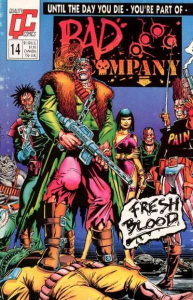 Bad Company #14 Comic Books - Covers, Scans, Photos  in Bad Company Comic Books - Covers, Scans, Gallery
