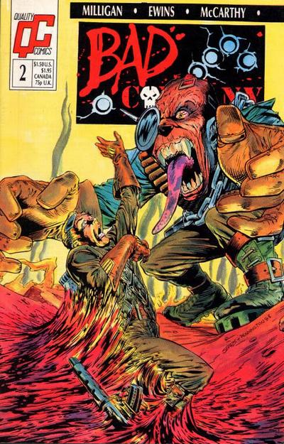 Bad Company #2 comic books - cover scans photos Bad Company #2 comic books - covers, picture gallery