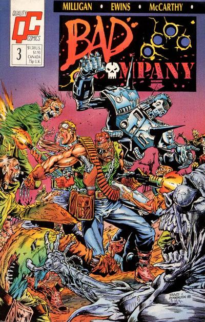 Bad Company #3 comic books - cover scans photos Bad Company #3 comic books - covers, picture gallery