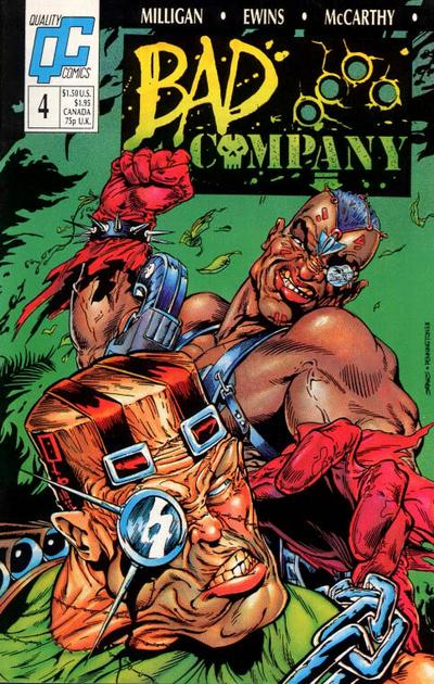Bad Company #4 comic books - cover scans photos Bad Company #4 comic books - covers, picture gallery
