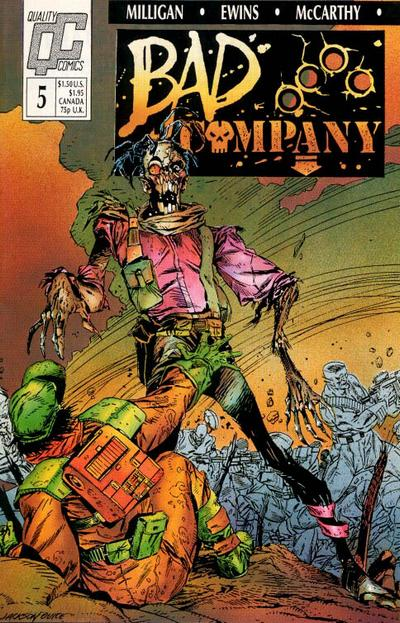 Bad Company #5 comic books - cover scans photos Bad Company #5 comic books - covers, picture gallery