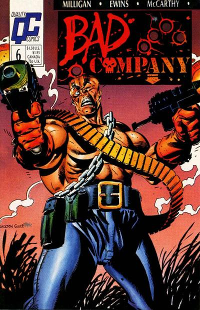 Bad Company #6 comic books - cover scans photos Bad Company #6 comic books - covers, picture gallery