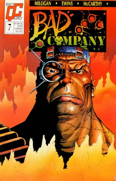 Bad Company #7 comic books - cover scans photos Bad Company #7 comic books - covers, picture gallery