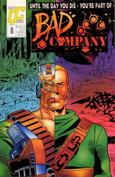 Bad Company #8 comic books - cover scans photos Bad Company #8 comic books - covers, picture gallery