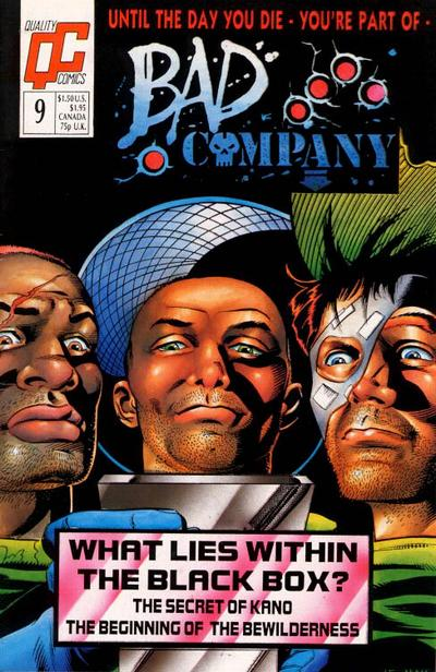 Bad Company #9 comic books - cover scans photos Bad Company #9 comic books - covers, picture gallery