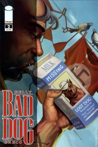 Bad Dog #2 comic books - cover scans photos Bad Dog #2 comic books - covers, picture gallery