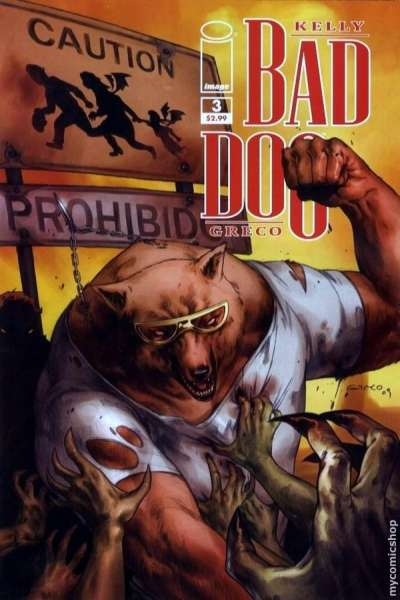 Bad Dog #3 comic books - cover scans photos Bad Dog #3 comic books - covers, picture gallery