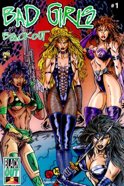 Bad Girls of Blackout comic books