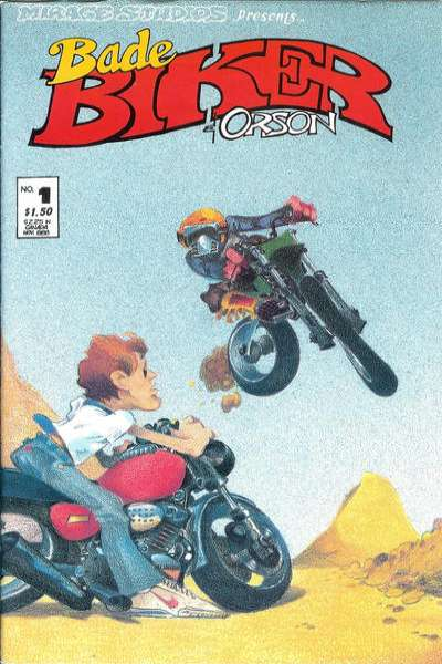 Bade Biker & Orson comic books