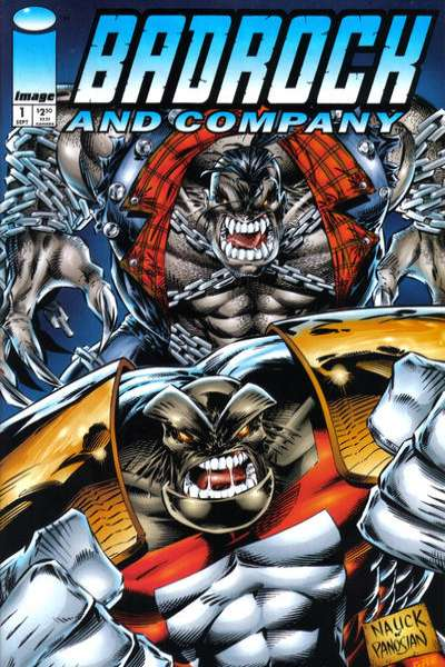 Badrock and Company #1 comic books for sale
