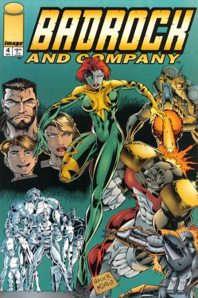 Badrock and Company #4 comic books for sale